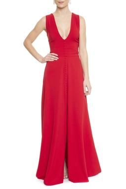 Vestido Pessego Red