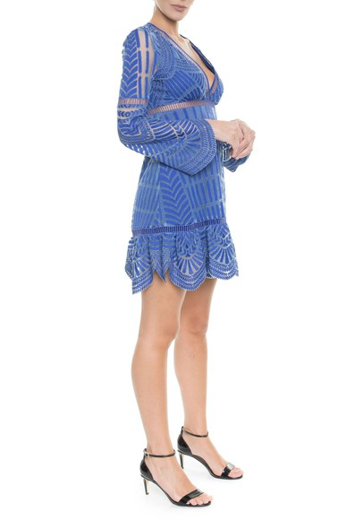 Vestido Petala Nicole Miller