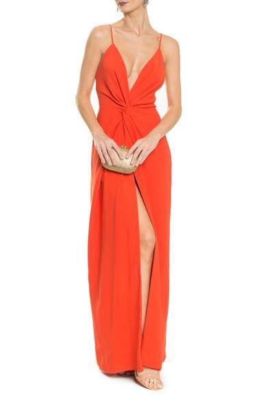 Vestido Poema Orange Carpe