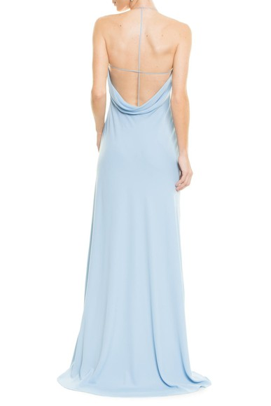 Vestido Poesia Light Blue Carpe