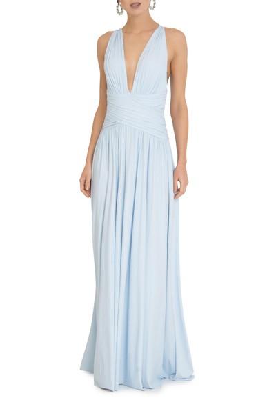 Vestido Pomona X Baby Blue Anamaria Couture