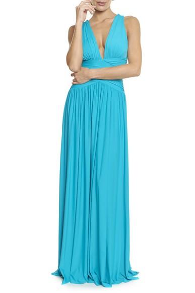 Vestido Pomona X Blue Anamaria Couture