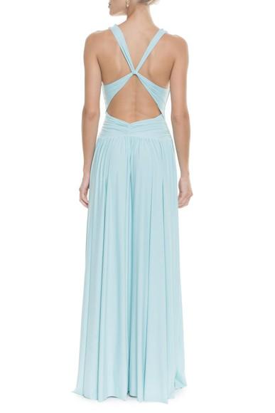 Vestido Pomona X Light Blue Anamaria Couture