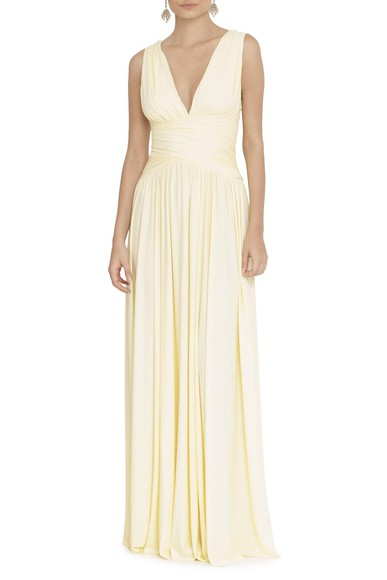Vestido Pomona X Light Yellow Anamaria Couture
