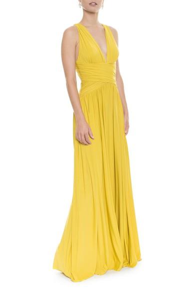 Vestido Pomona X Mostarda Anamaria Couture