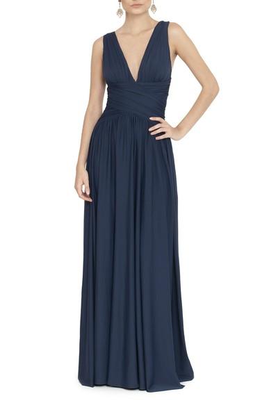 Vestido Pomona X Navy Anamaria Couture