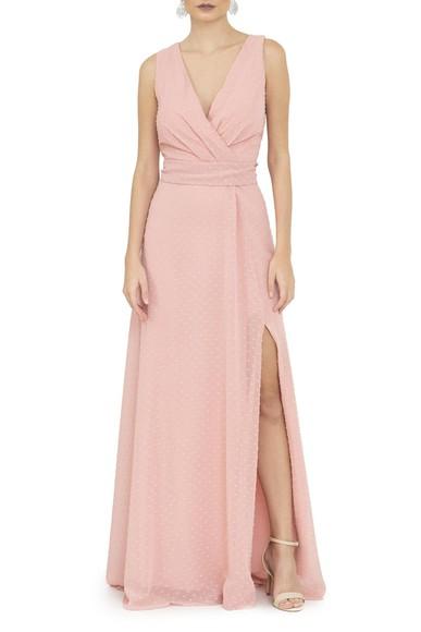 Vestido Puella Rosa Basic Collection