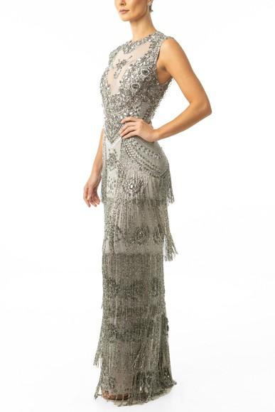 Vestido Puglia Grey Fernanda Nabhan