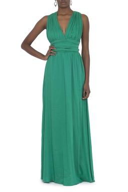 Vestido Razer Green
