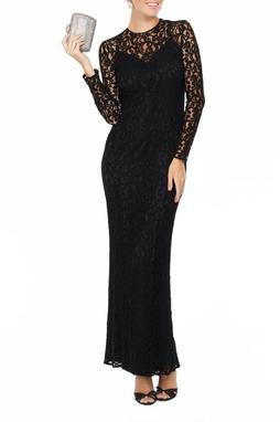 Vestido Renda Arabesc preto