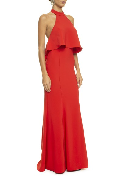 Vestido Rivia Red Basic Collection