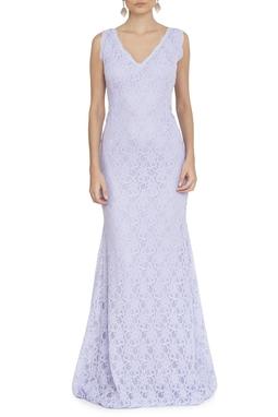 Vestido Romilda Lavanda