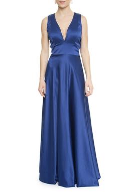 Vestido Samira Blue