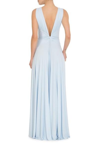 Vestido Sibila V Baby Blue Anamaria Couture