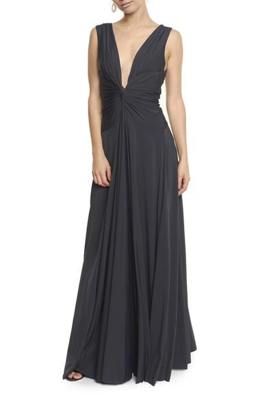 Vestido Sibila V Black Anamaria Couture
