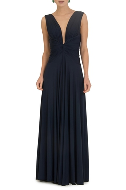 Vestido Sibila V Dark Blue