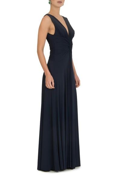 Vestido Sibila V Dark Blue Anamaria Couture
