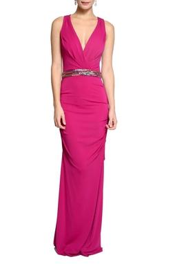 Vestido Strech Matte Pink