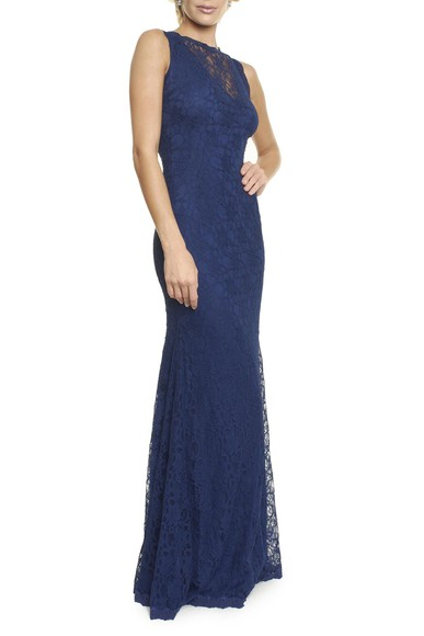 Vestido Summers Blue Anamaria Couture