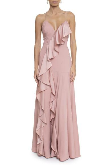 Vestido Thalia Rose Basic Collection