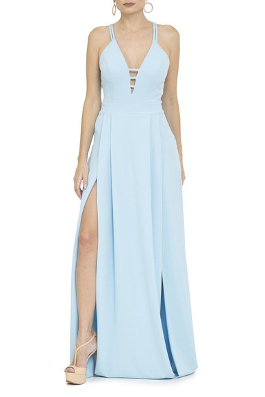 Vestido Tully Light Blue Basic Collection