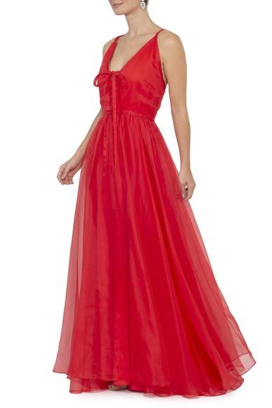 Vestido Tyene Red Kika Simonsen