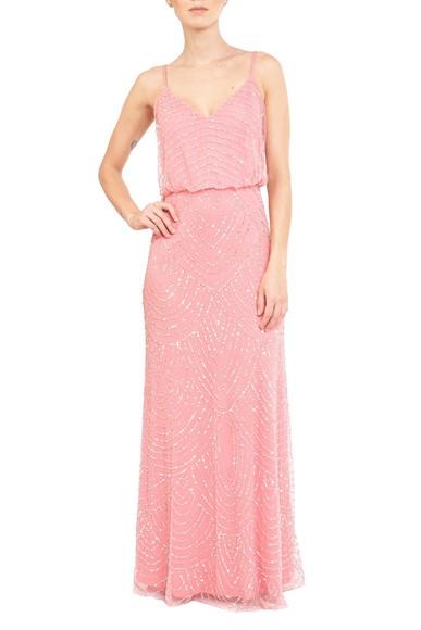 Vestido Visage Pink Adrianna Papell