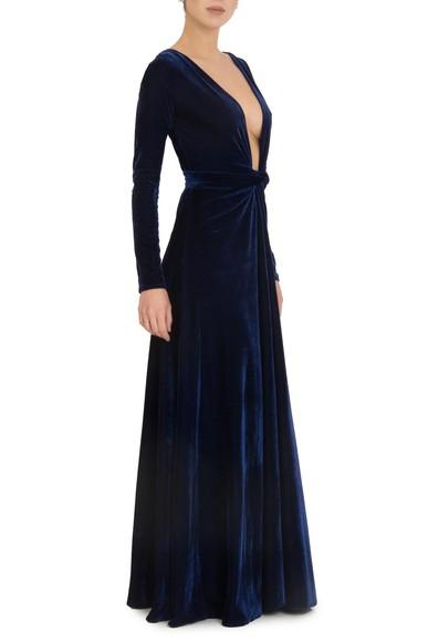 Vestido Winter Blue Anamaria Couture
