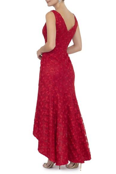 Vestido Zagari Red Karl Lagerfeld