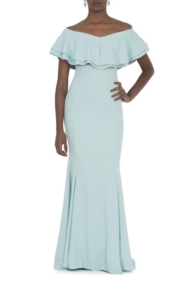 Vestido Zaliti Light Blue Basic Collection