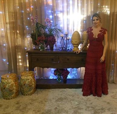 Ameiii o vestido!!! Foi mto elogiado! Obrigada!!!