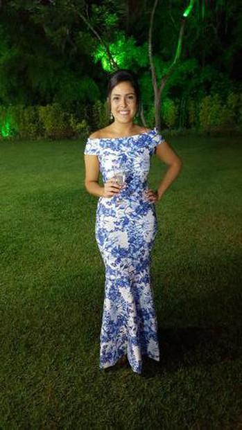 O vestido fez muito sucesso! Todos amaram!
