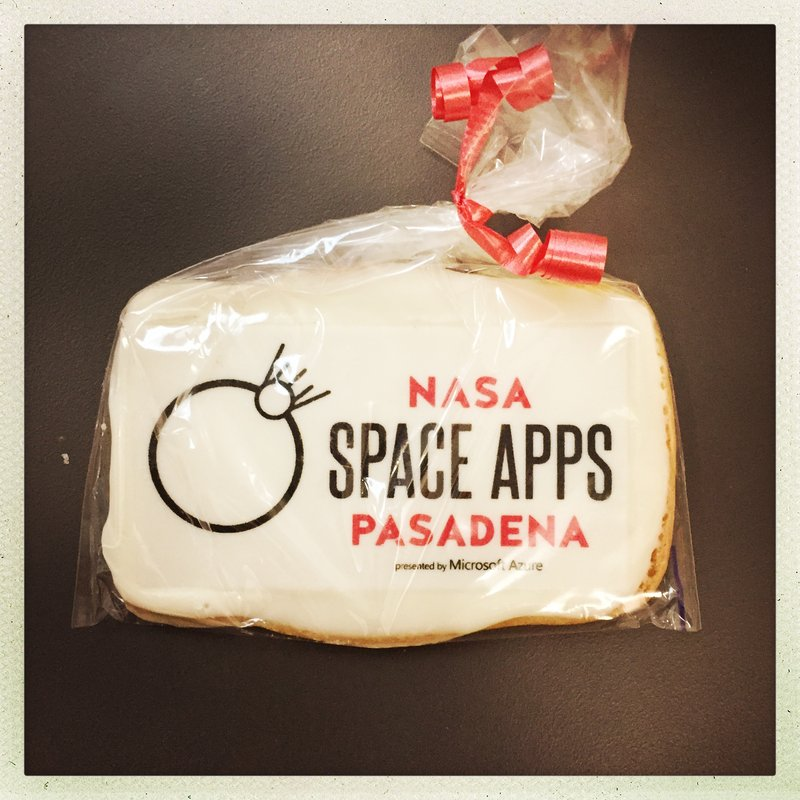 Space Apps 2016 MainStage Pasadena COOKIE!!