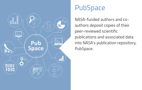 NASA PubSpace for federally funded research results