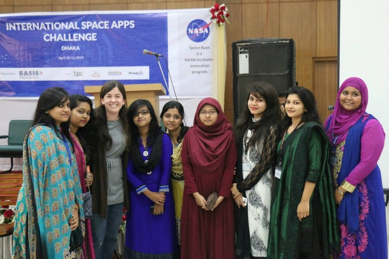 Women in Data: Space Apps Dhaka Bangladesh