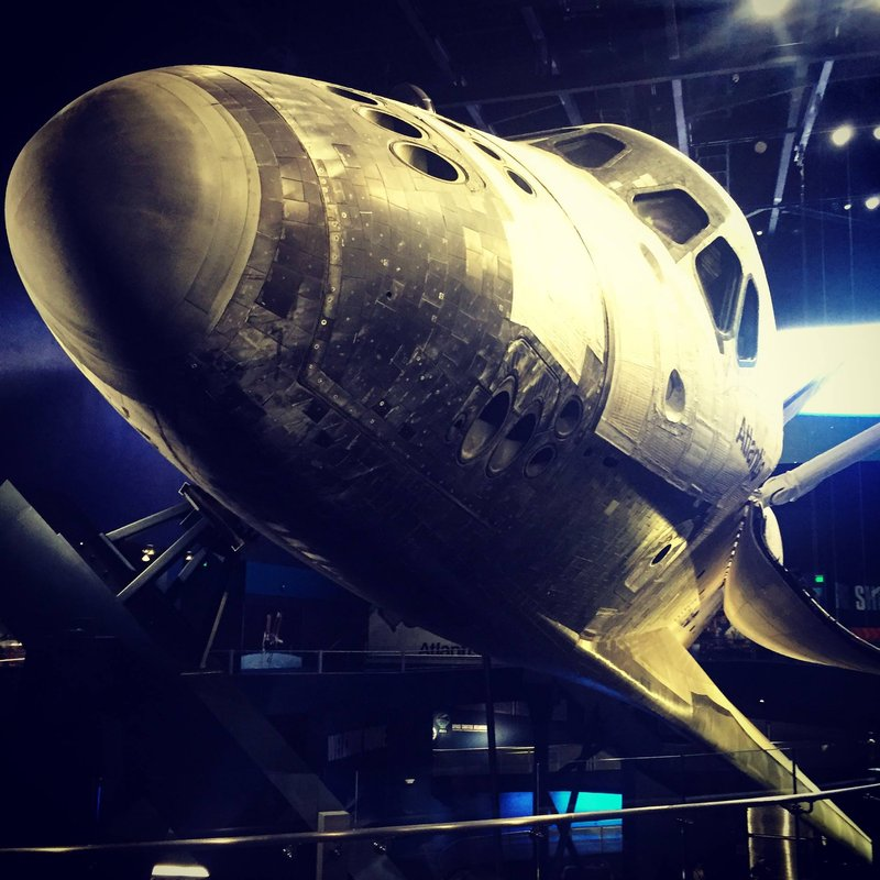 Atlantis Shuttle at KSC