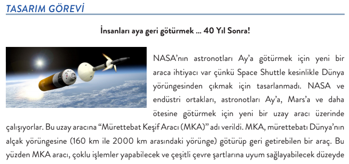 Excerpt of the Turkish-language version of