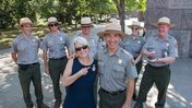 Peace Corps Director Carrie Hessler-Radelet tours National Mall - August 26, 2016