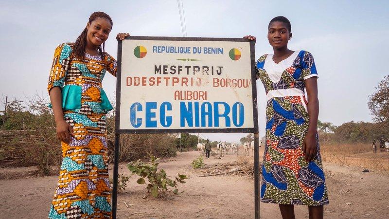Tatiana and Yvette, PC Benin