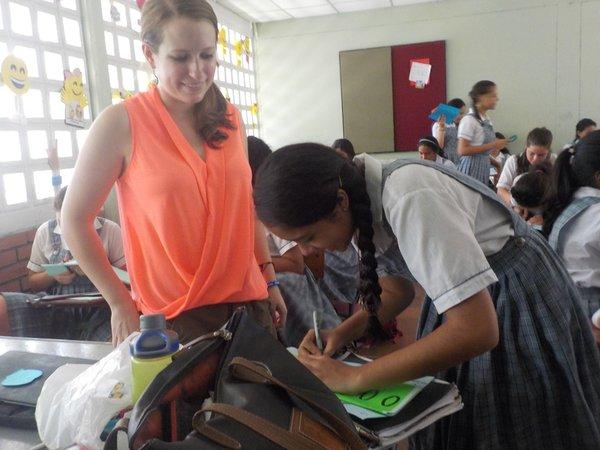 Lindsay Schiltz, Colombia