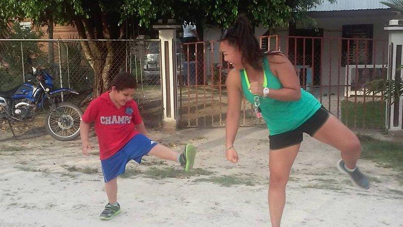 Sarah exercise group