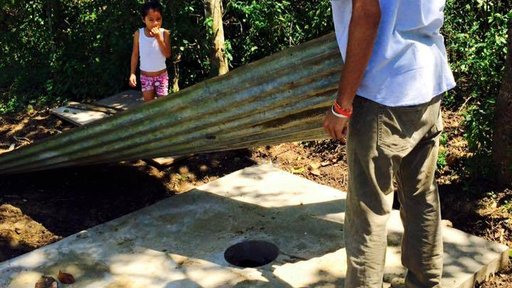 Mobilizing the community for change - latrine construction