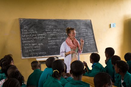 English teacher in Ethiopia