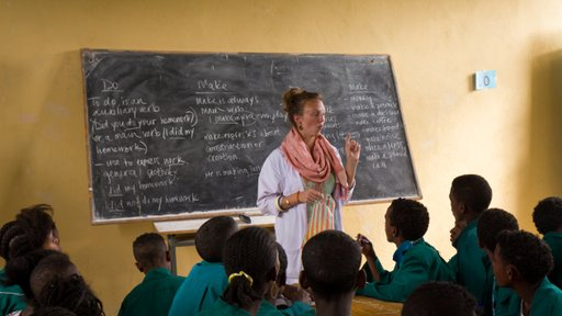 English teacher in Ethiopia