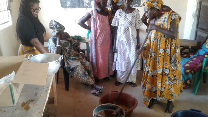 Louga Soap Making