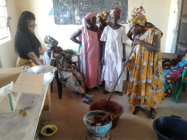 Louga Soap Making