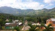 Mountain village view, Río Limpio, La República Dominicana, 2017