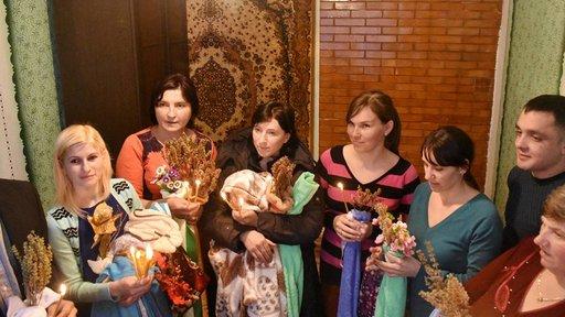 Baptism in Moldova