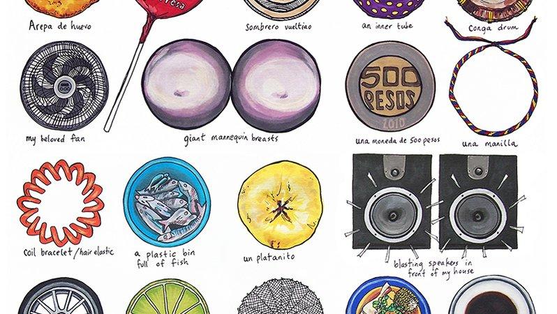 30 circles poster