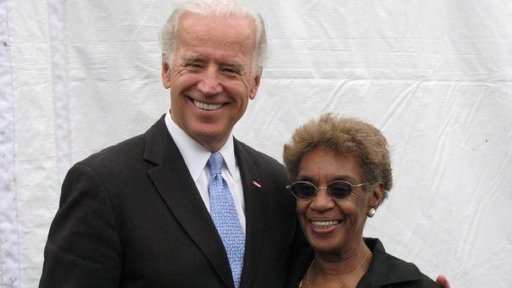 Bettie with Vice President Joe Biden